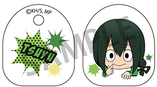 My Hero Academia 1.5'' Tsuyu Asui Clear Acrylic Bag Clip