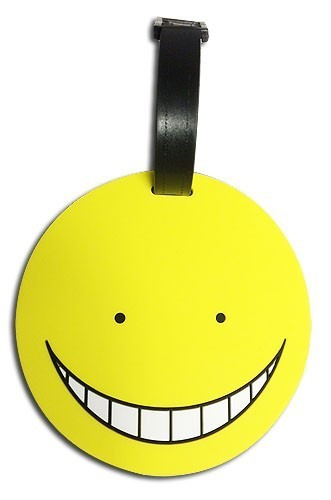 Assassination Classroom Koro-Sensei Yellow Luggage Tag
