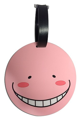 Assassination Classroom Koro-Sensei Pink Luggage Tag
