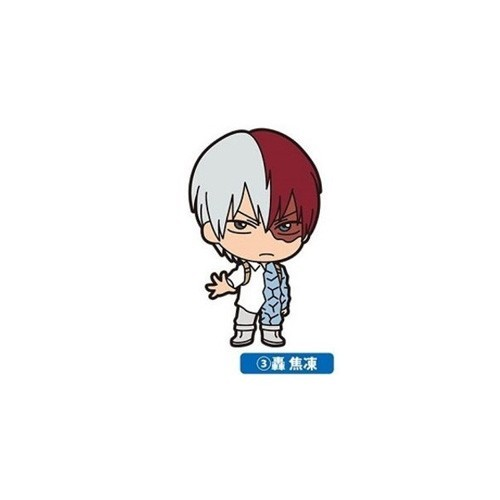 My Hero Academia Todoroki Shouto Rubber Ensky Key Chain
