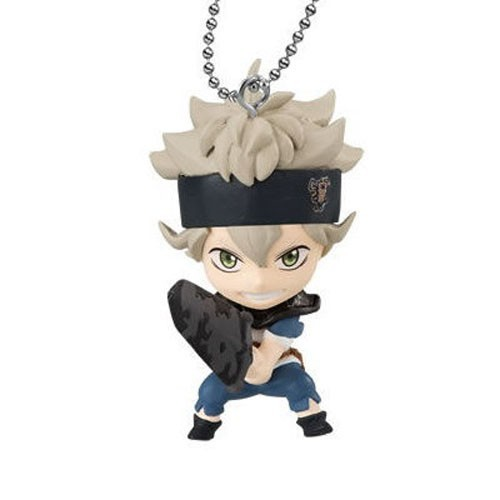 Black Clover Asta Mascot Key Chain