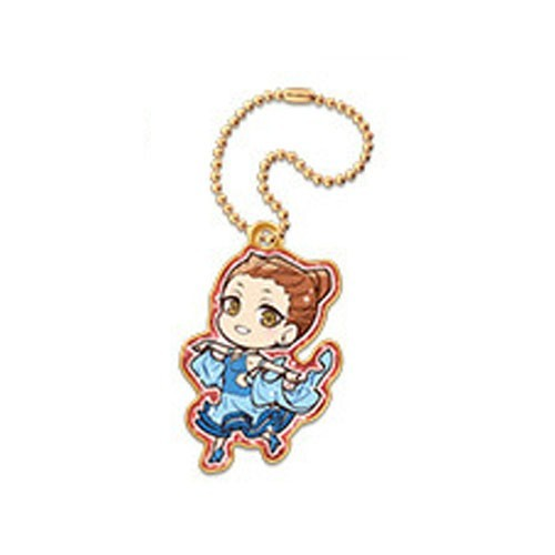 Welcome To Ballroom Chinatsu Hiyama Metal Charm Key Chain