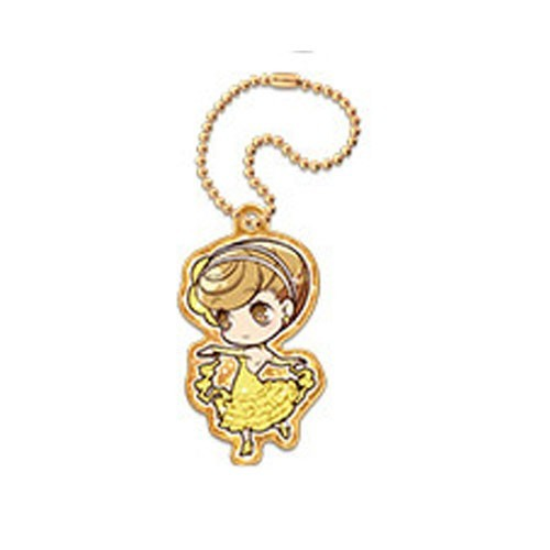 Welcome To Ballroom Mako Akagi Metal Charm Key Chain