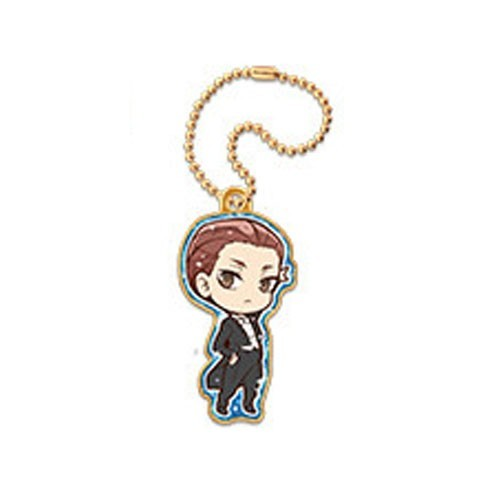Welcome To Ballroom Kiyoharu Hyoudou Metal Charm Key Chain
