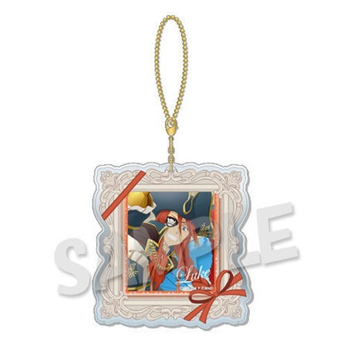 Tales of Link Series Luke Dress Up Clear Charm Key Chain