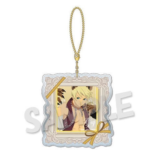 Tales of Link Series Guy Dress Up Clear Charm Key Chain