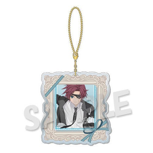 Tales of Link Series Asbel Dress Up Clear Charm Key Chain