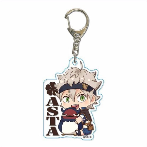 Black Clover Asta Acrylic Key Chain