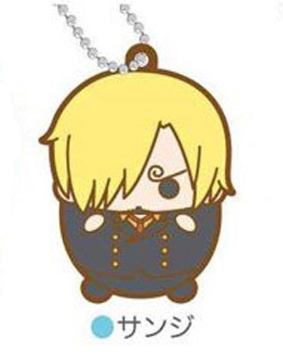 One Piece Sanji Tamakoro Rubber Key Chain