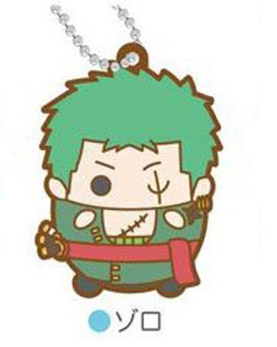 One Piece Zoro Tamakoro Rubber Key Chain