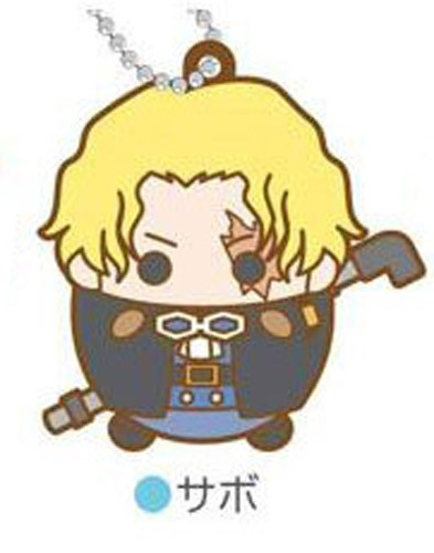 One Piece Sabo Tamakoro Rubber Key Chain