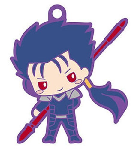 Fate Grand Order X Sanrio Cu Chulainn Rubber Key Chain