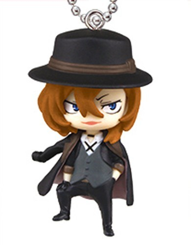 Bungo Stray Dogs Chuya Mascot Key Chain