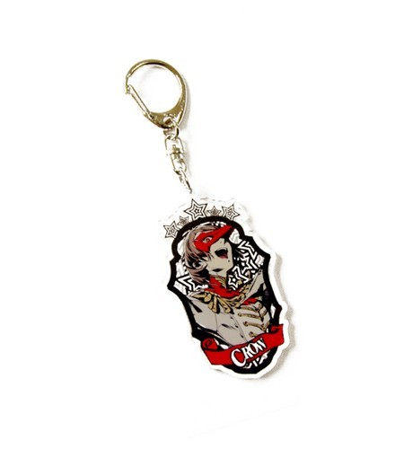 Persona 5 Crow Acrylic Key Chain