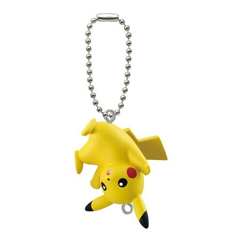 Pokemon Pikachu Upside Down Connecting Mascot Vol. 4 Key Chain