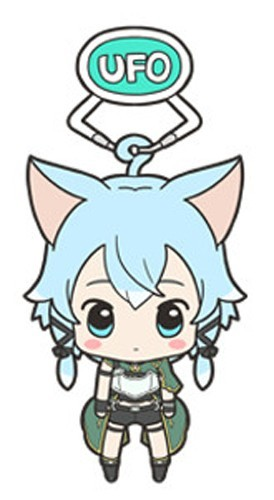 Sword Art Online Alfheim Sinon UFO Acrylic Key Chain Vol. 2