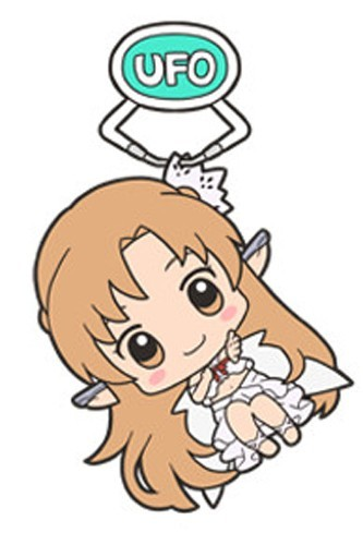 Sword Art Online Alfheim Asuna UFO Acrylic Key Chain Vol. 2