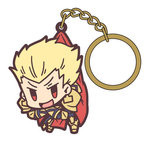 Fate Grand Order Archer Gilgamesh Tsumamare Key Chain