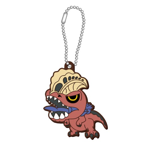 Monster Hunter World Anjanath Rubber Key Chain