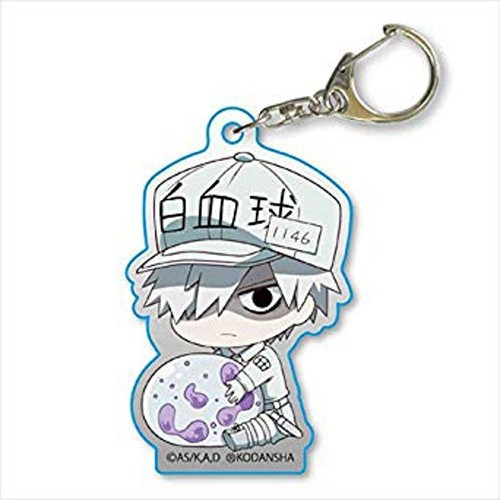 Cells at Work White Blood Cell Holding White Blood Cell Acrylic Key Chain