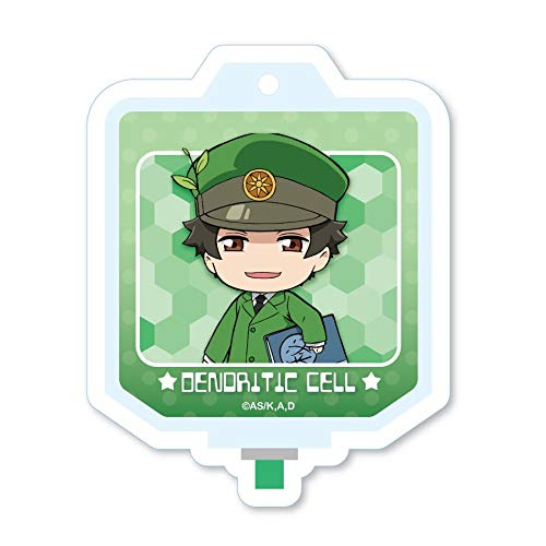 Cells at Work Dendritic Cell Blood Bag Acrylic Key Chain