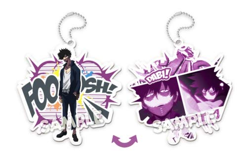 My Hero Academia Dabi Chara X Self Acrylic Key Chain