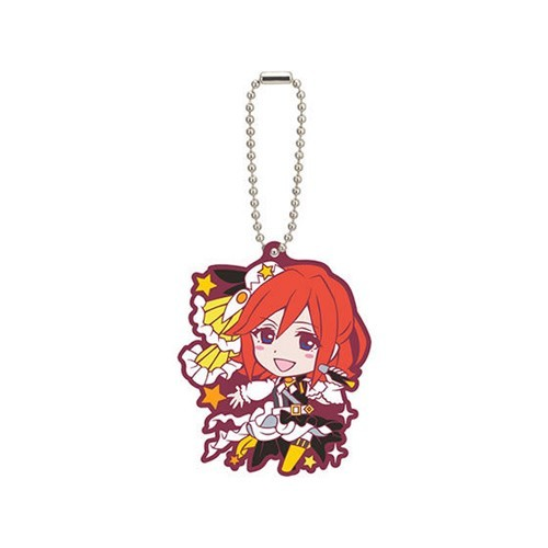 Macross Kaname Buccaneer 35th Anniversary Rubber Key Chain
