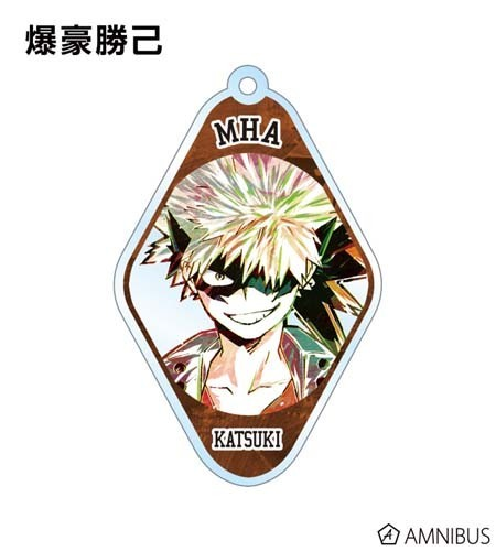 My Hero Academia Bakugo Katsuki Diamond Acrylic Key Chain
