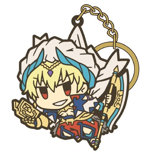 Fate Grand Order Gilgamesh Tsumamare Series 3 Cospa Key Chain