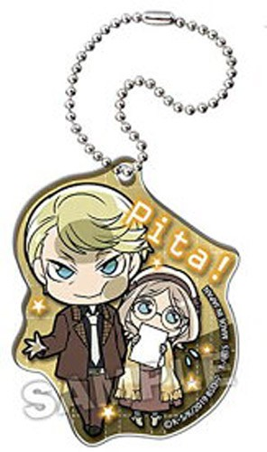 Bungo Stray Dogs Francis Scott Key Fitzgerald, Louisa May Alcott Pita! Acrylic Key Chain