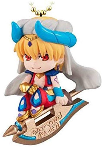 Fate Grand Order Caster Gilgamesh Twinkle Dolly Absolute Demonic Battlefront Babylonia Vol. 1 Key Chain