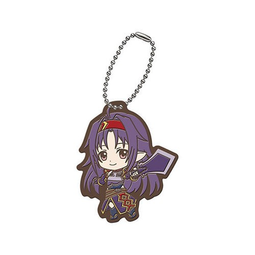 Sword Art Online Yuuki Bandai Capsule Rubber Mascot Vol. 3 Key Chain