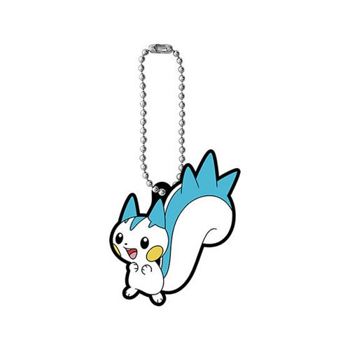 Pokemon Pachirisu Rubber Mascot Set 11 Bandai Key Chain