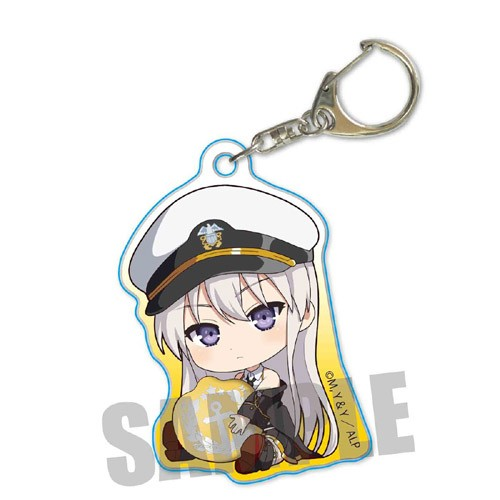 Azur Lane Enterprise Gyugyutto Acrylic Key Chain