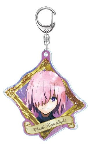 Fate Grand Order Mash Kyrielight Acrylic Key Chain