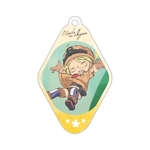 Made in Abyss Riko Diamond Shaped Amnibus Key Chain
