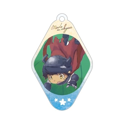 Made in Abyss Reg Diamond Shaped Amnibus Key Chain
