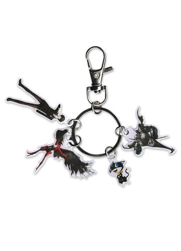 Persona 5 Protagonist, Arsene, Morgana and Zorro Metal Key Chain