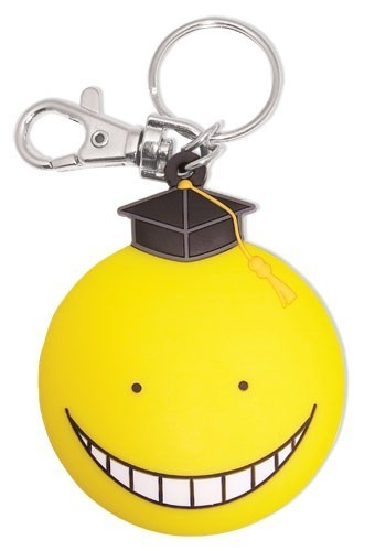 Assassination Classroom Koro-Sensei Face PVC Key Chain