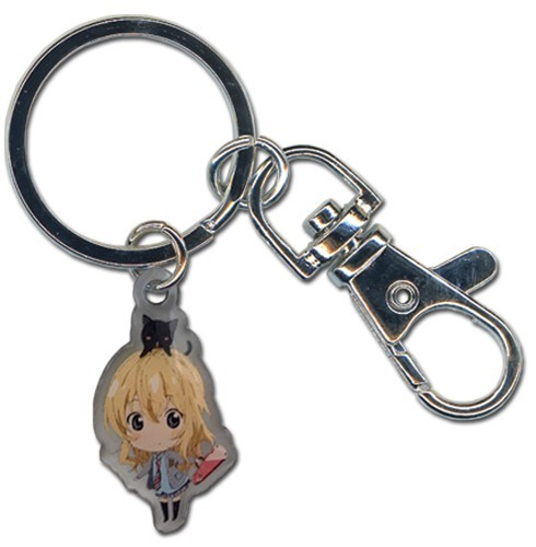Your Lie in April Kaori Metal Key Chain
