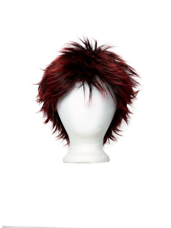 Hiro - Natural Black Fade Crimson Red