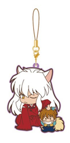 Inu Yasha and Shippo Movic Rumiko Takahashi Rubber Phone Strap