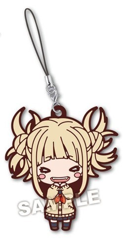 My Hero Academia Himiko Toga Winter Oufit Rubber Phone Strap