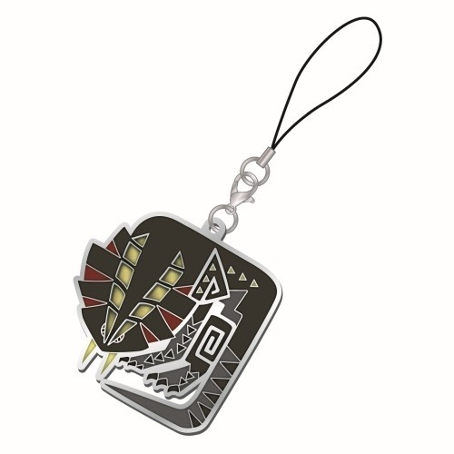Monster Hunter Great Girros Vol. 2 Metal Stained Glass Icon Phone Strap