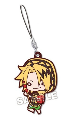 My Hero Academia Kaminari Denki Summer Series Rubber Phone Strap