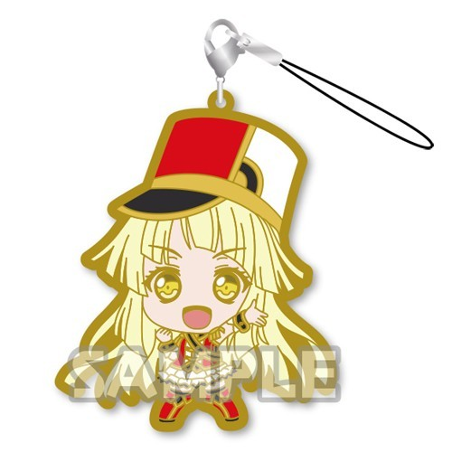 Bang Dream! Tsurumaki Kokoro Hello! Happy World Rubber Phone Strap