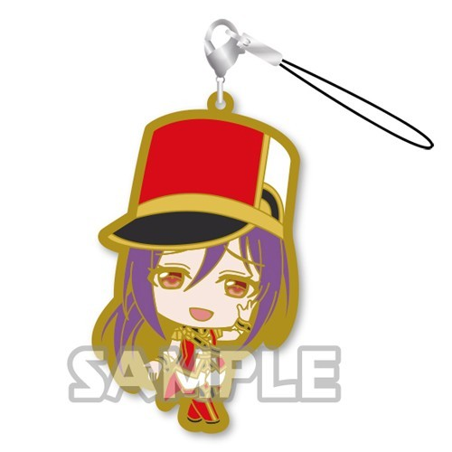 Bang Dream! Seta Kaoru Hello! Happy World Rubber Phone Strap
