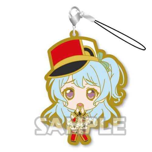 Bang Dream! Matsubara Kanon Hello! Happy World Rubber Phone Strap