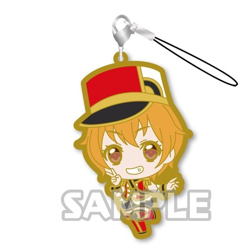 Bang Dream! Kitazawa Hagumi Hello! Happy World Rubber Phone Strap
