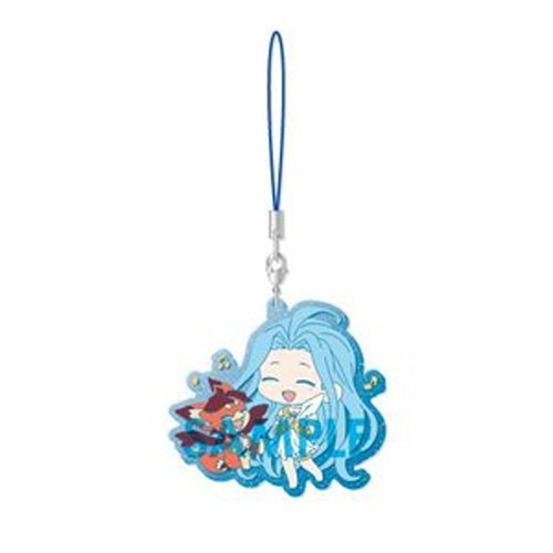 Granblue Fantasy Lyria and Vee Sol International Rubber Strap